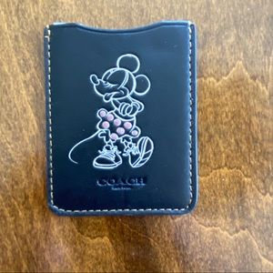 Coach | Coach X Disney Minnie Mouse Card Pocket